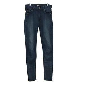 Hudson Skinny Blue Jeans 26